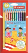 Stabilo Trio Thick 12 Colouring Pencils Pack of 12